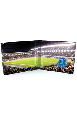 Football Club Stadium Leather Wallet - Everton
