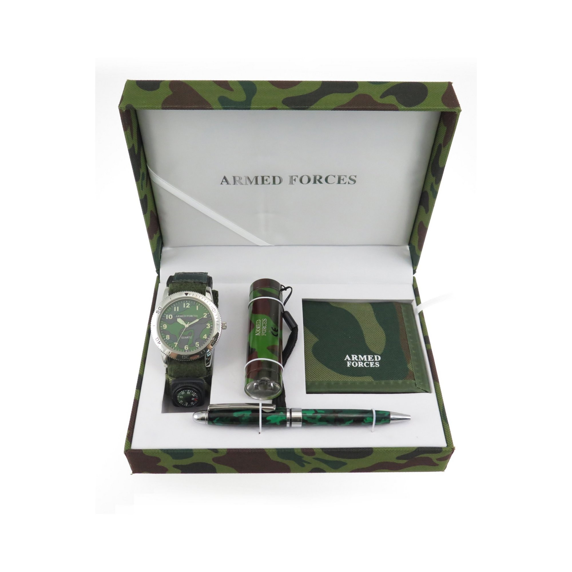 Image of Kids Armed Forces Watch Gift Set
