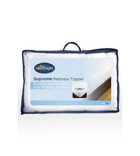 silentnight supreme comfort mattress topper studio. Black Bedroom Furniture Sets. Home Design Ideas
