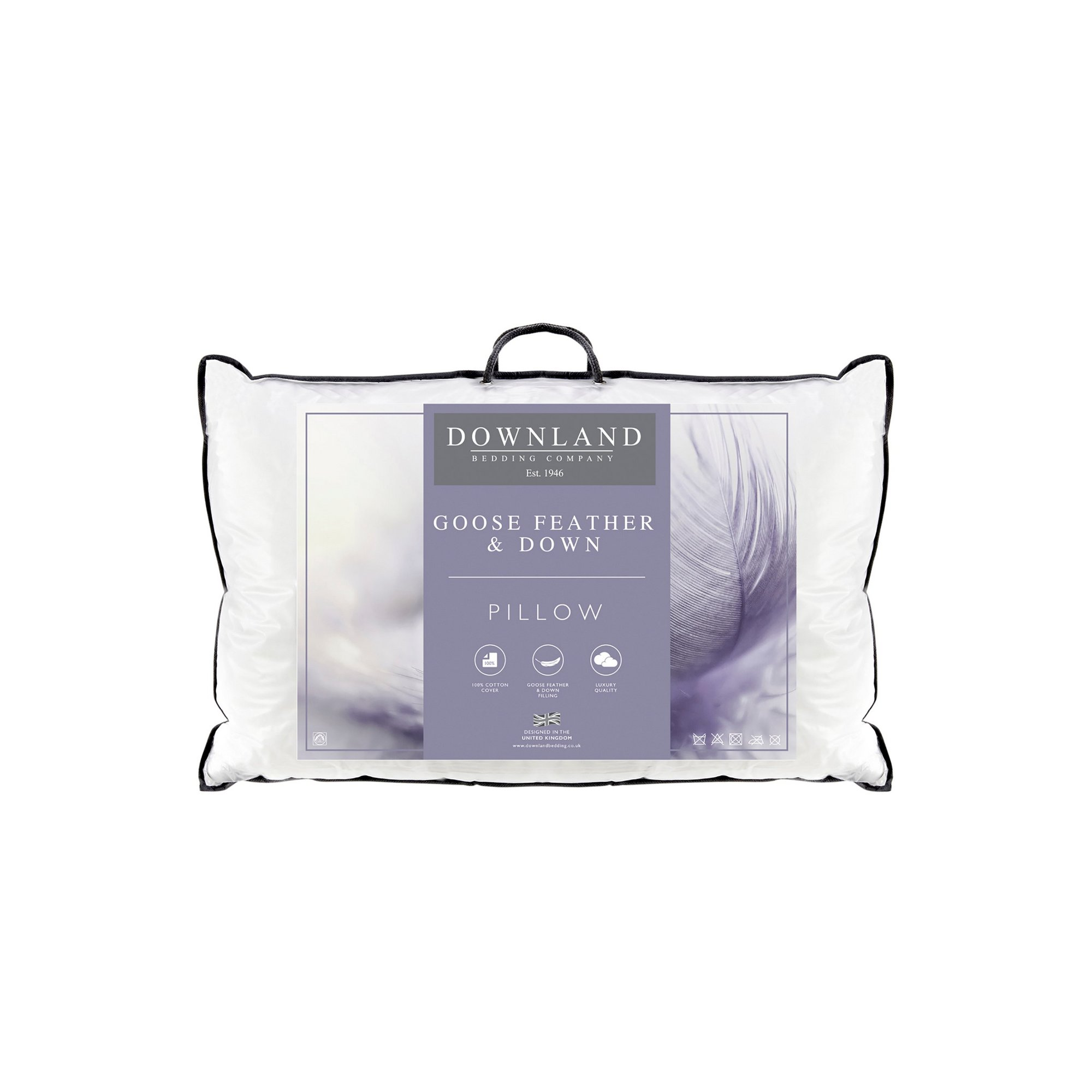 Image of Downland Goose Feather Pillow Range