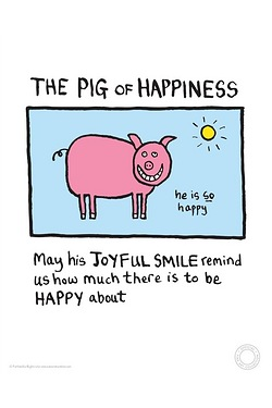 Edward Monkton - The Pig of Happiness