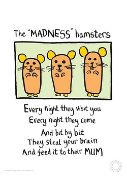 Edward Monkton - The Madness Hamsters