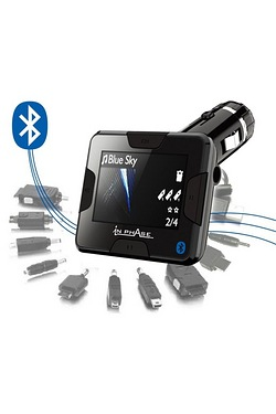 In Phase BT Go FM Transmitter With Built In Bluetooth Handsfree Kit & Universal Chargers Included