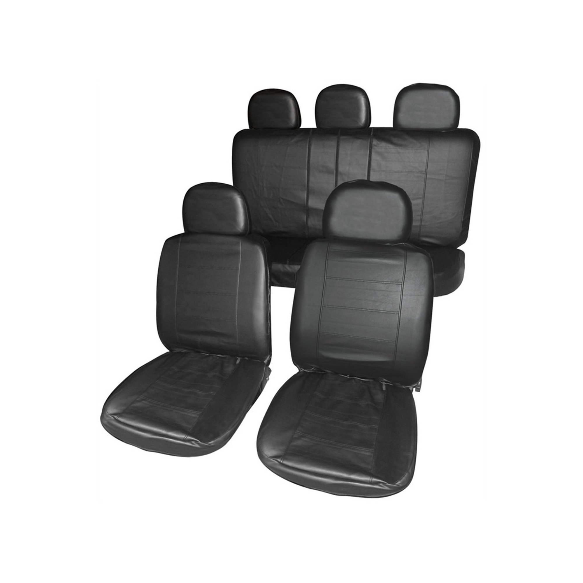 Image of Leather Look Seat Covers