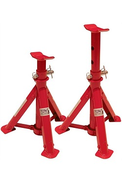 Adjustable Fixed Base Axle Stands