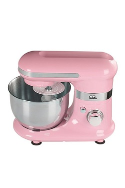 Pink Mixer With Bowl and Attachments