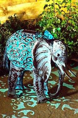 Solar Light - Elephant