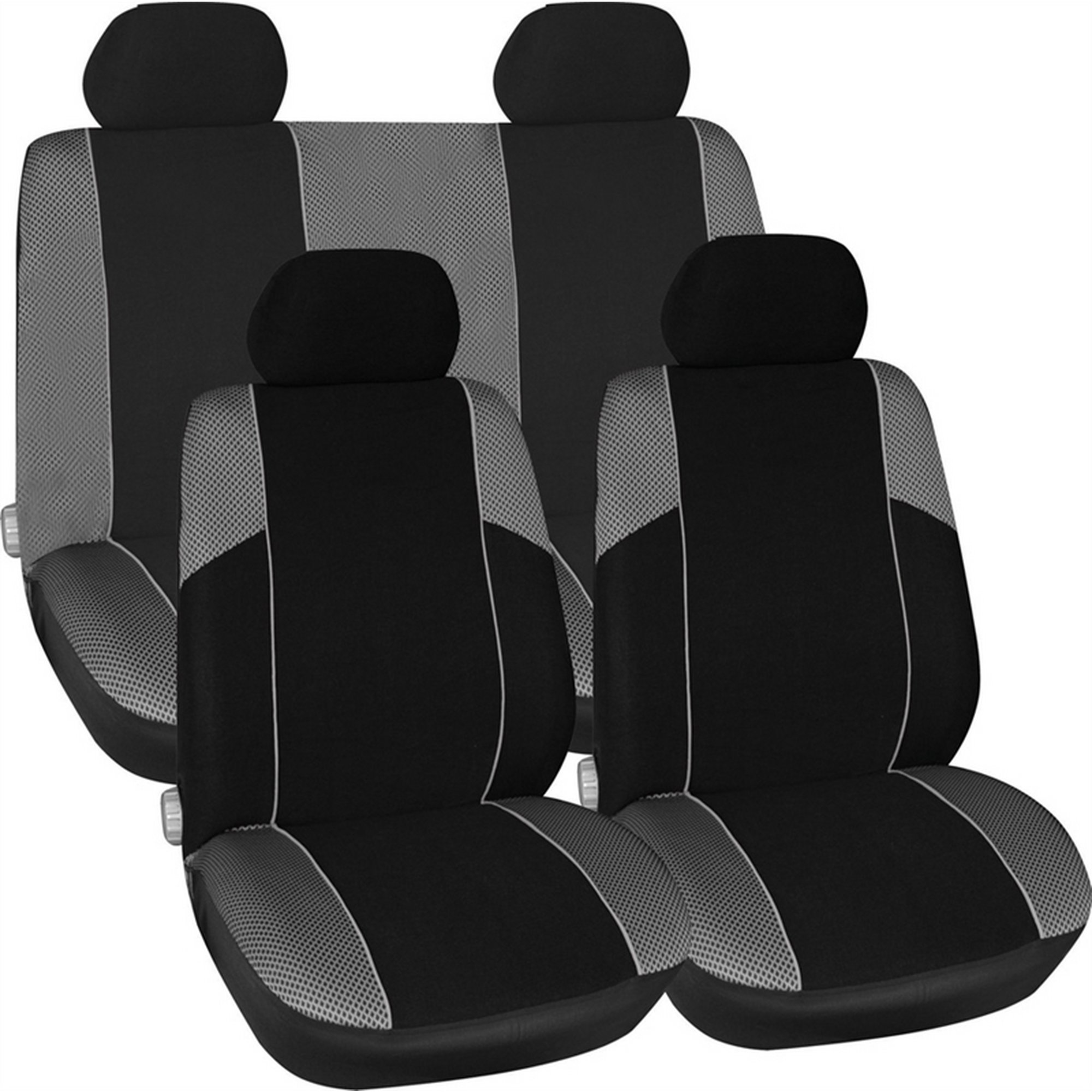 Image of Universal Low Back Car Seat Cover Set