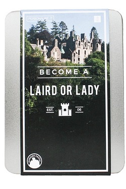 Personalise It - Become a Laird or Lady