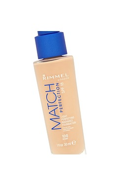 Rimmel - Match Perfection Foundations Ivory & Sun Bronzer