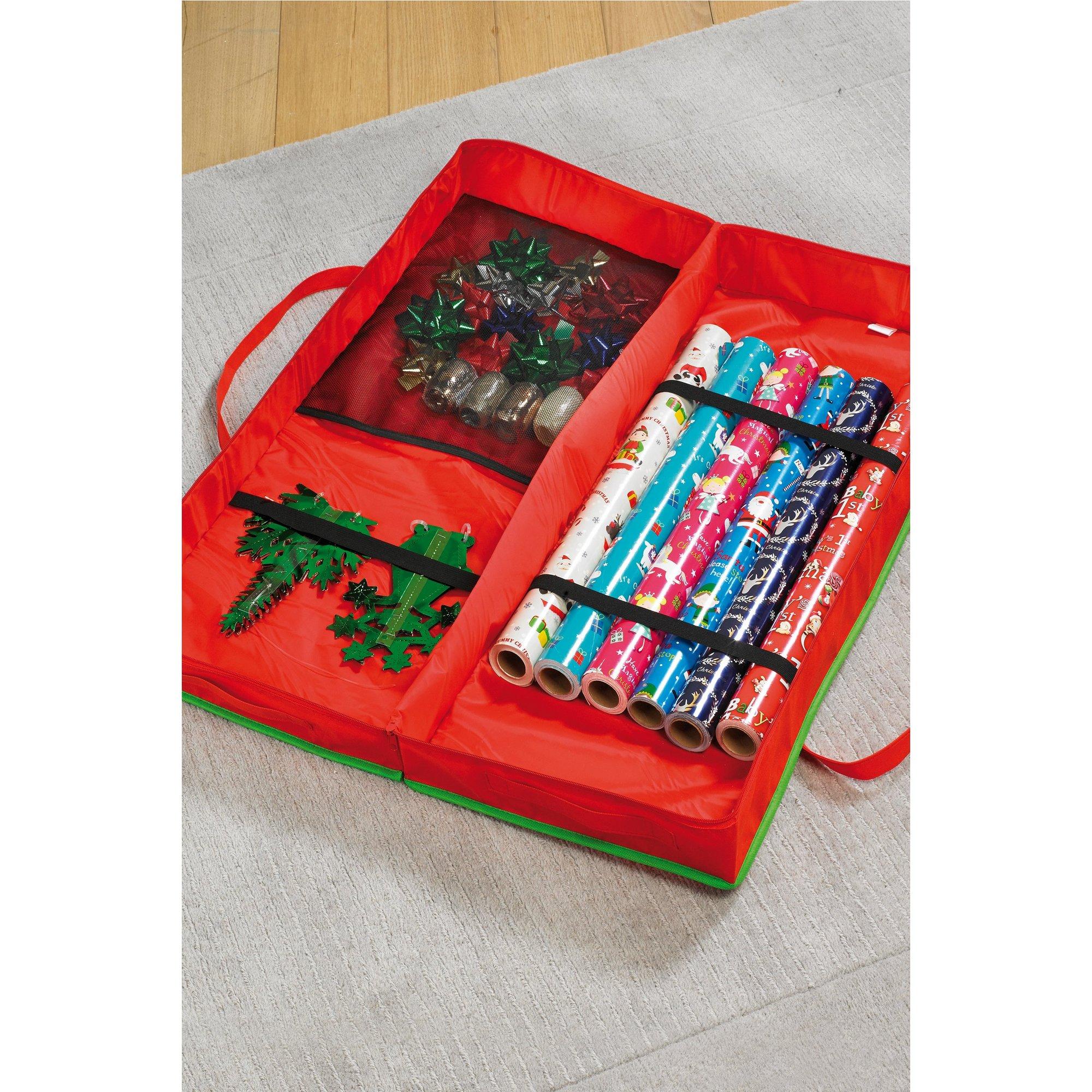 Image of Christmas Gift Wrap Organiser