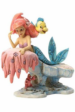 Disney Traditions - Ariel Dreaming Under The Sea Figurine
