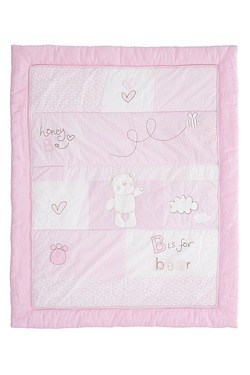 Obaby B is for Bear Quilt and Bumper 2 Piece Set