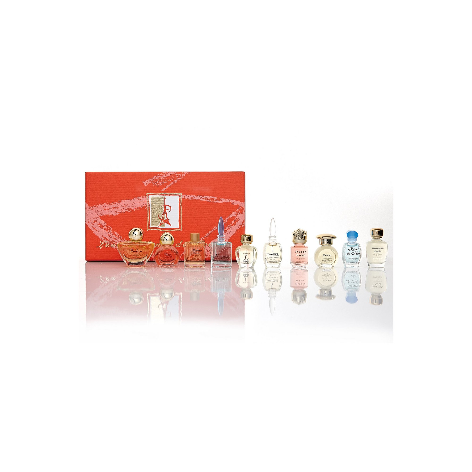 Image of Set of 10 Charrier EDP Miniatures Gift Set