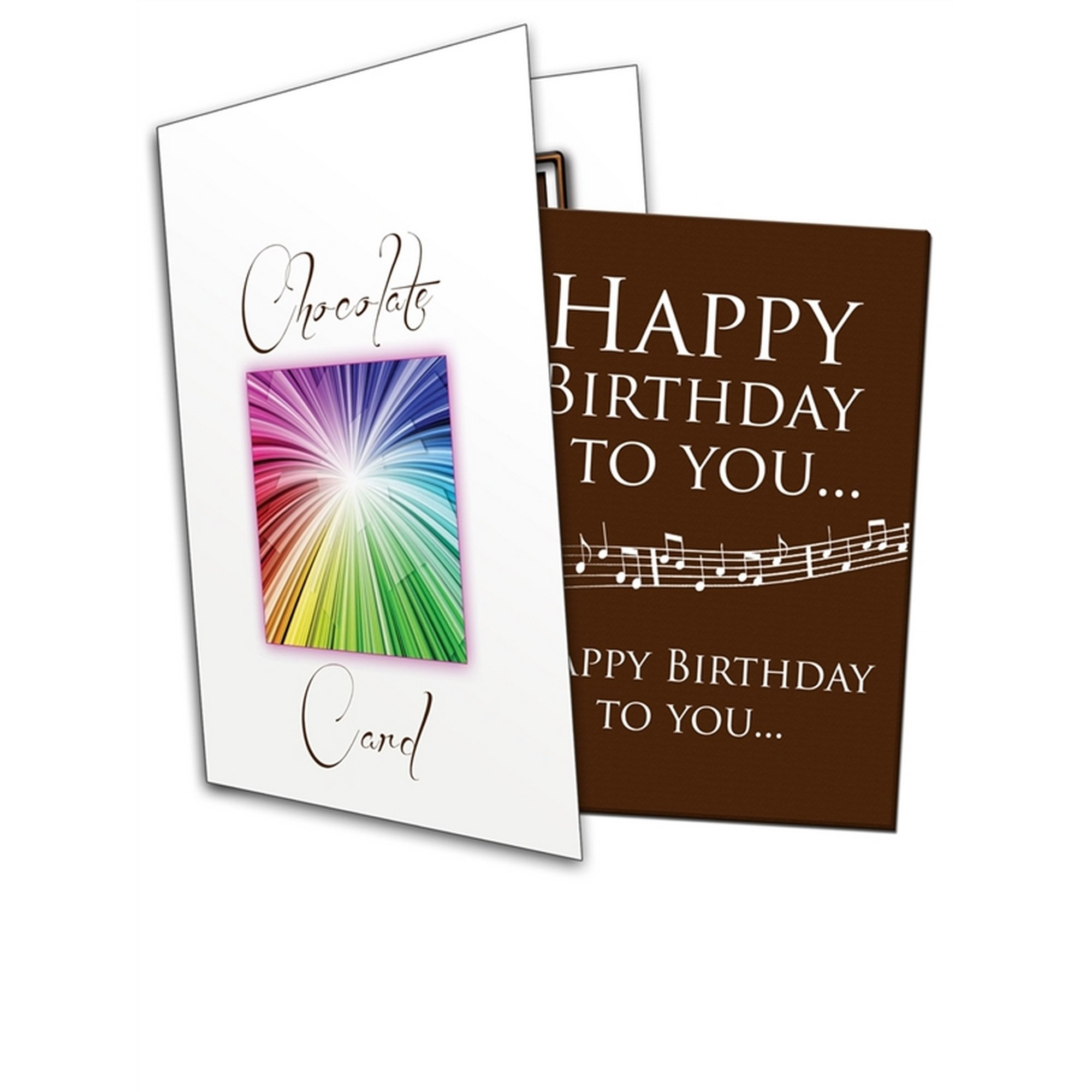 Image of Happy Birthday To You Chocolate Greetings Card