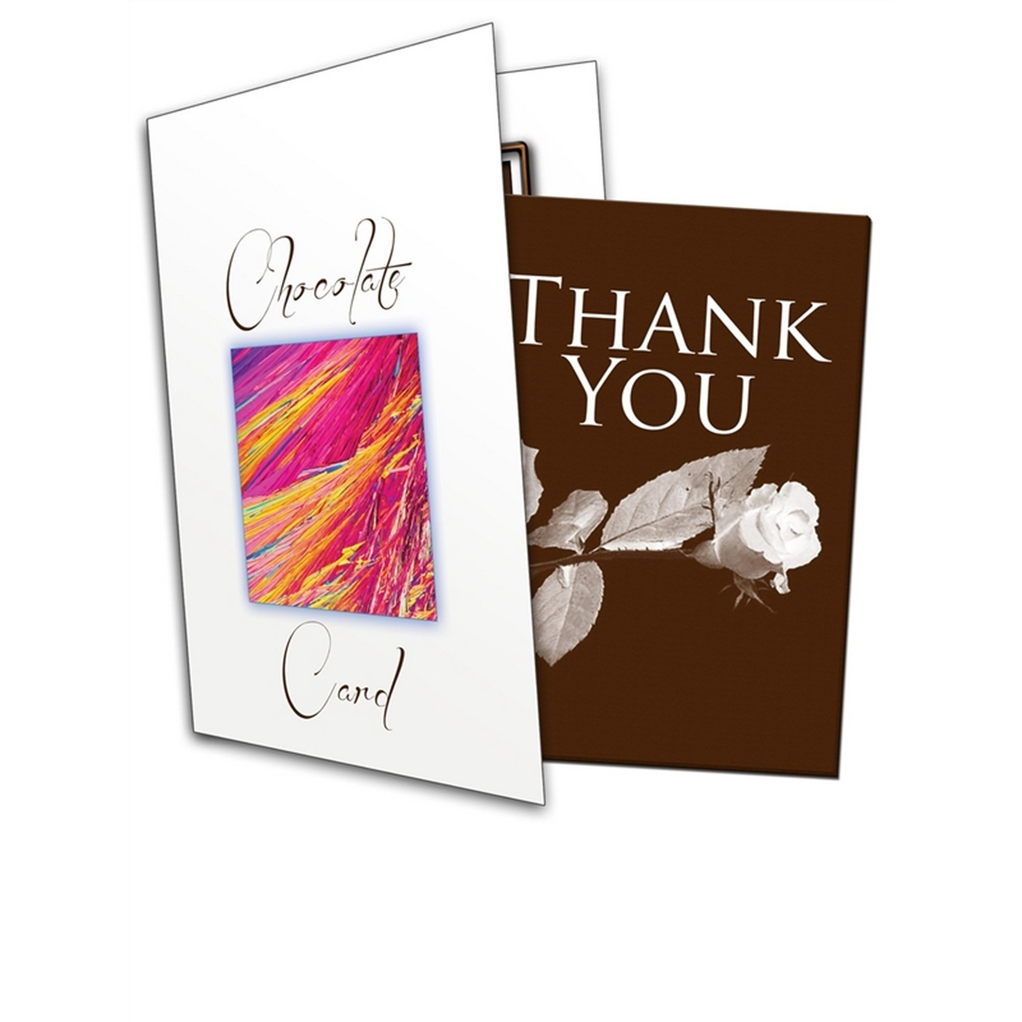 Image of Thank You Chocolate Greetings Card