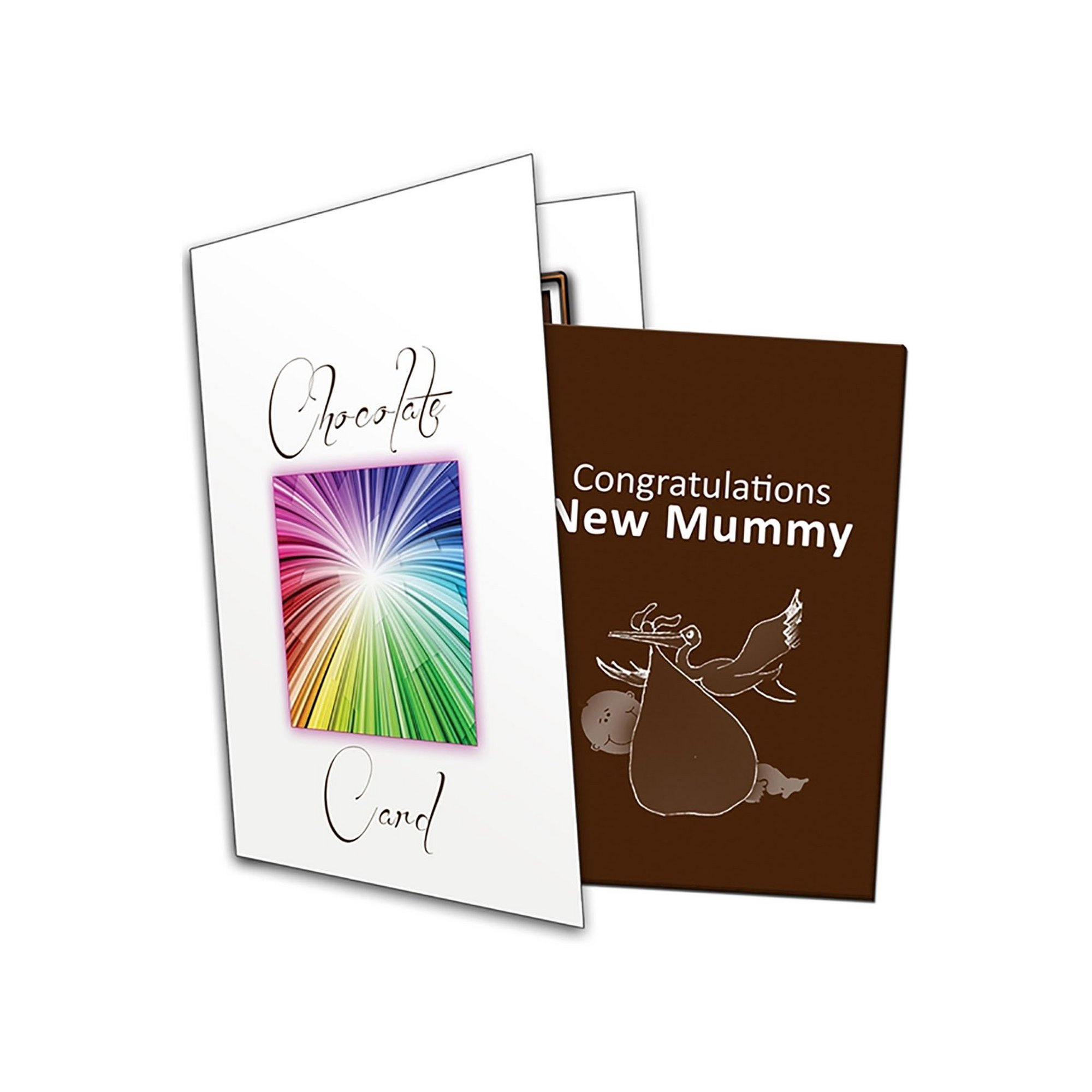 Image of Congratulations New Mummy Chocolate Greetings Card