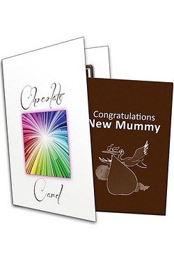Congratulations New Mummy Chocolate Greetings Card