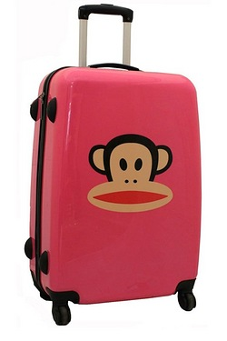 Paul Frank Pink Suitcase