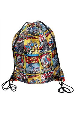 Superman Comic Strip Pump Bag