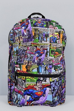 Superman Flies Backpack