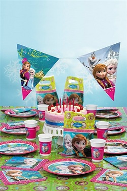 Disney Frozen Ultimate Party Kit For 16