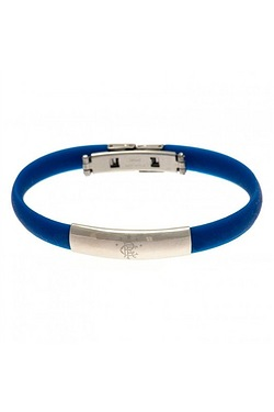 Rangers Football Club Stainless Steel/Silicone Bracelet