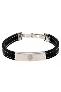 Arsenal Football Club Stainless Steel/Silicone Bracelet