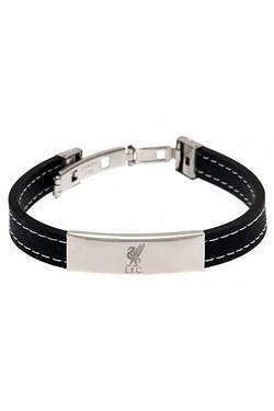 Liverpool Football Club Stainless Steel/Silicone Bracelet