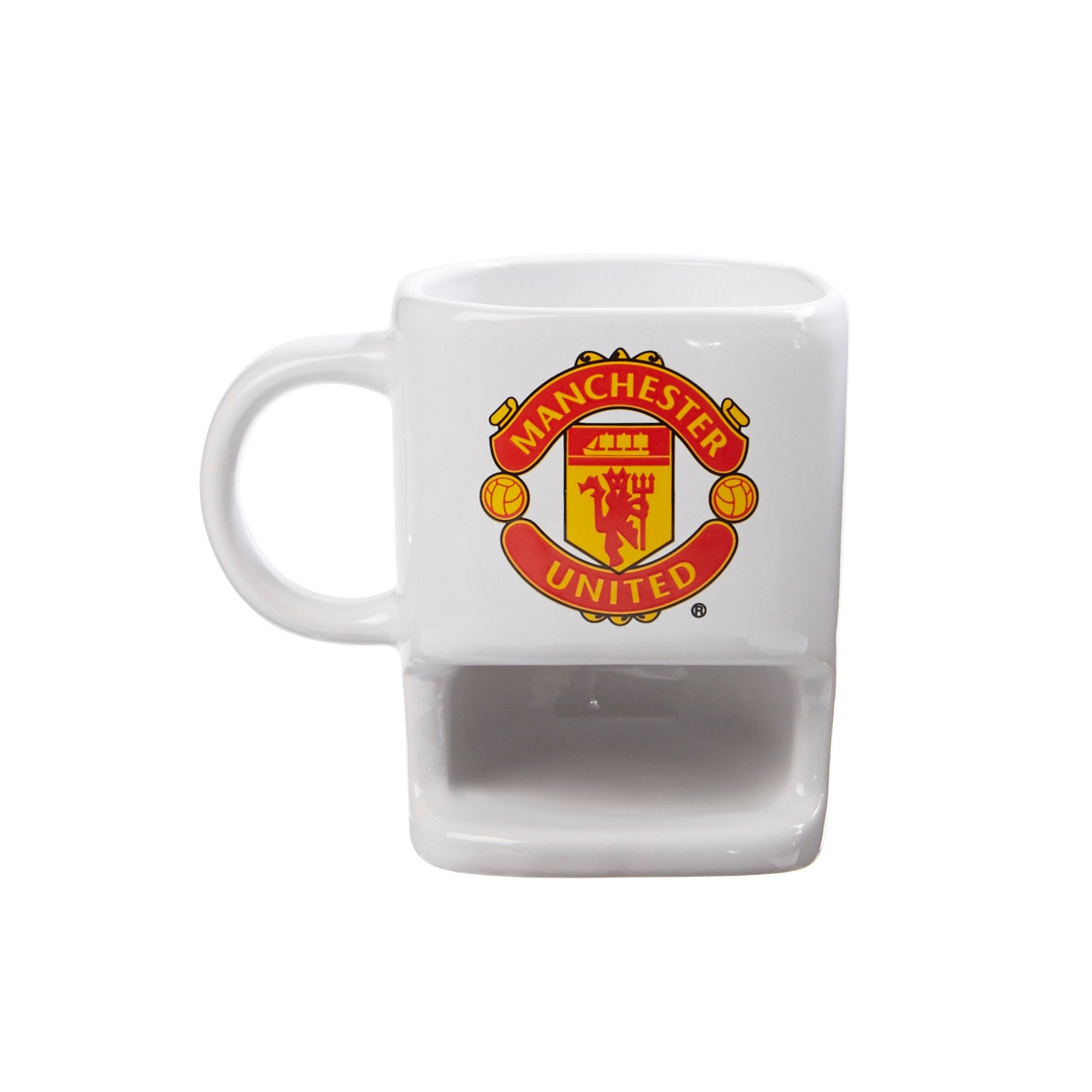 Image of Ceramic Biscuit Mug - Manchester United