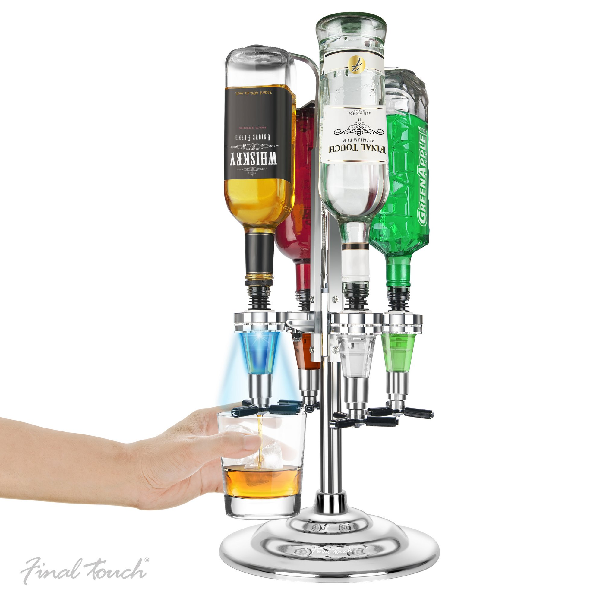 Image of Final Touch LED Rotary Bar Caddy