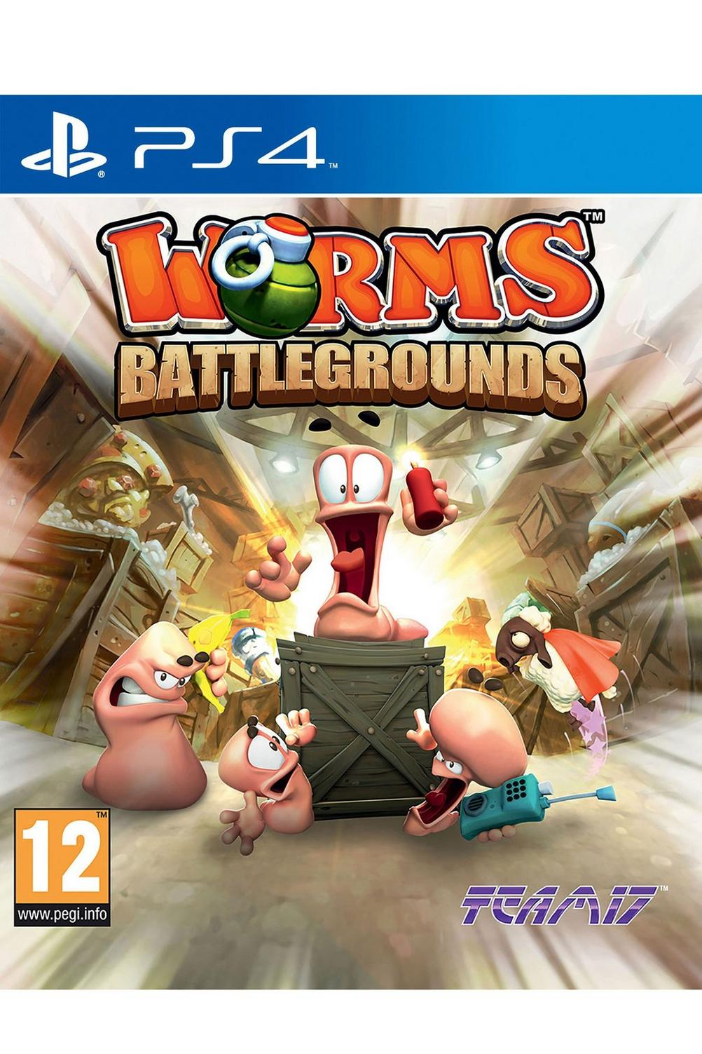 Ps4 Worms Battlegrounds Studio Ps4yooka Laylee Reg 2 Image For From