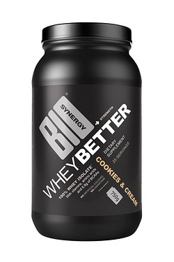 Whey Better Cookies and Cream Protein Powder 750g
