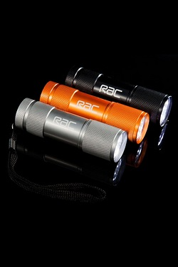 RAC Aluminium 9 LED Torch Triple Pack