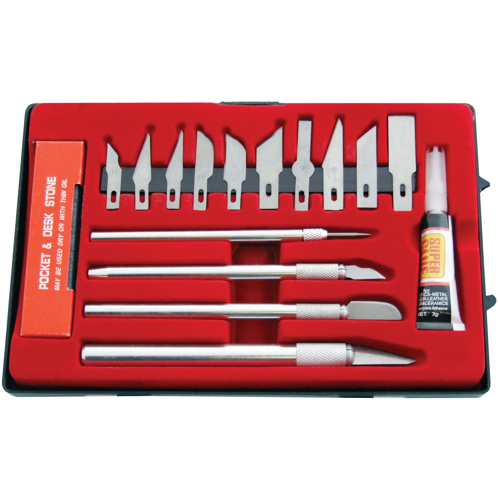 Image of 17-Piece Hobby Knife Kit