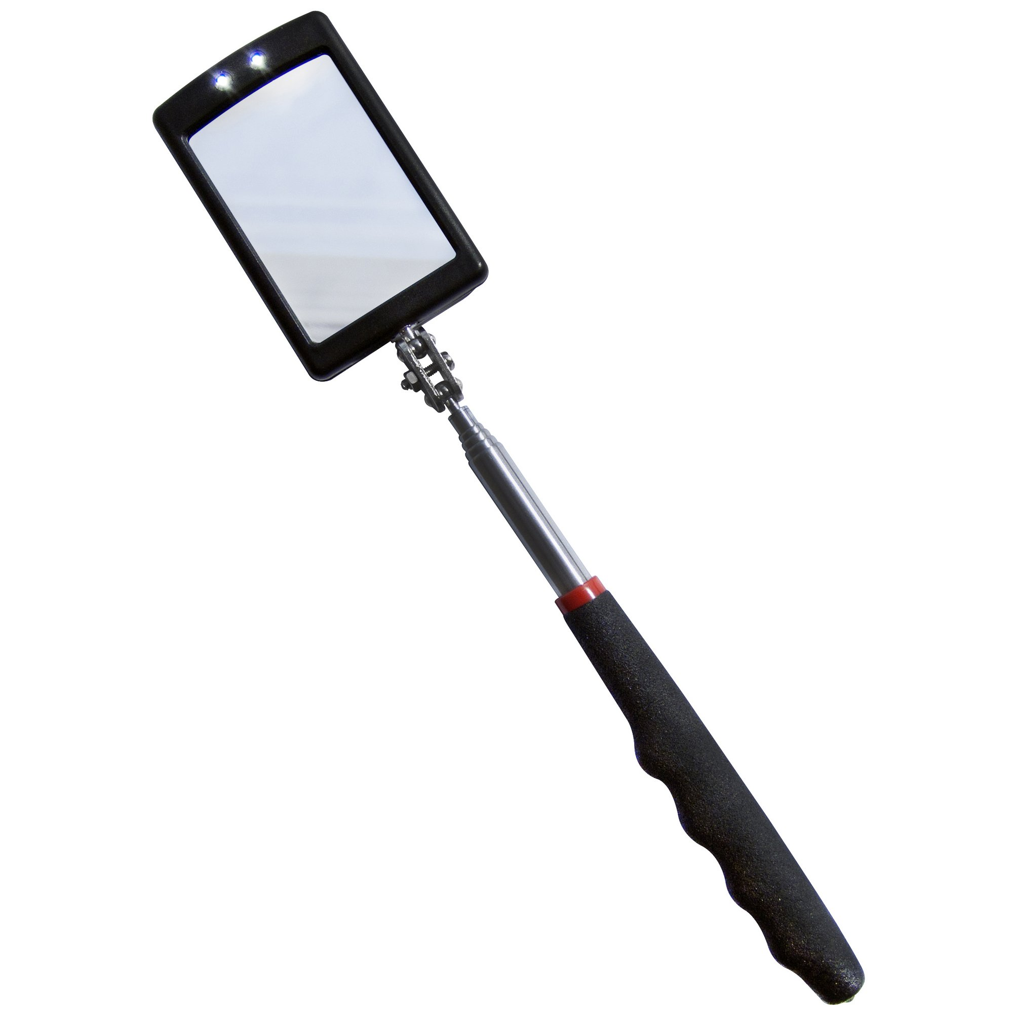 Image of 2 LED Telescopic Inspection Mirror