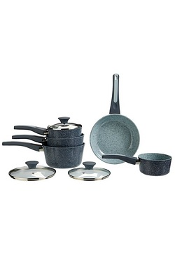 5-Piece Granite Pan Set