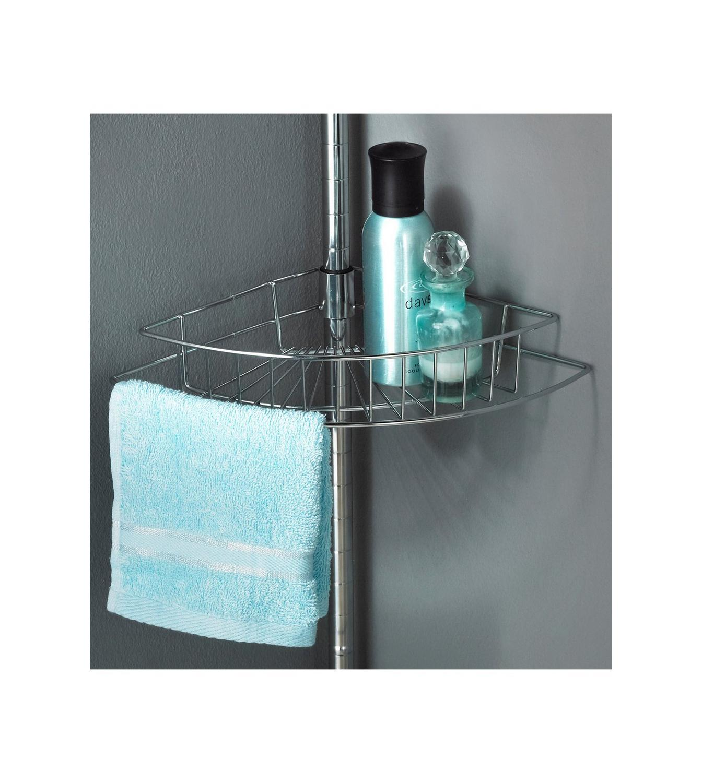 4-Tier Chrome Finish Bath/Shower Caddy | Studio