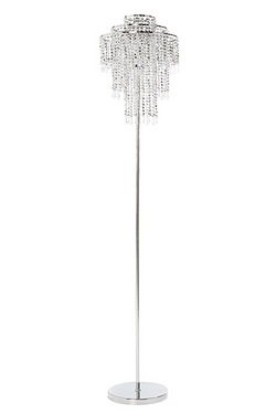 Silver Bead Floor Lamp