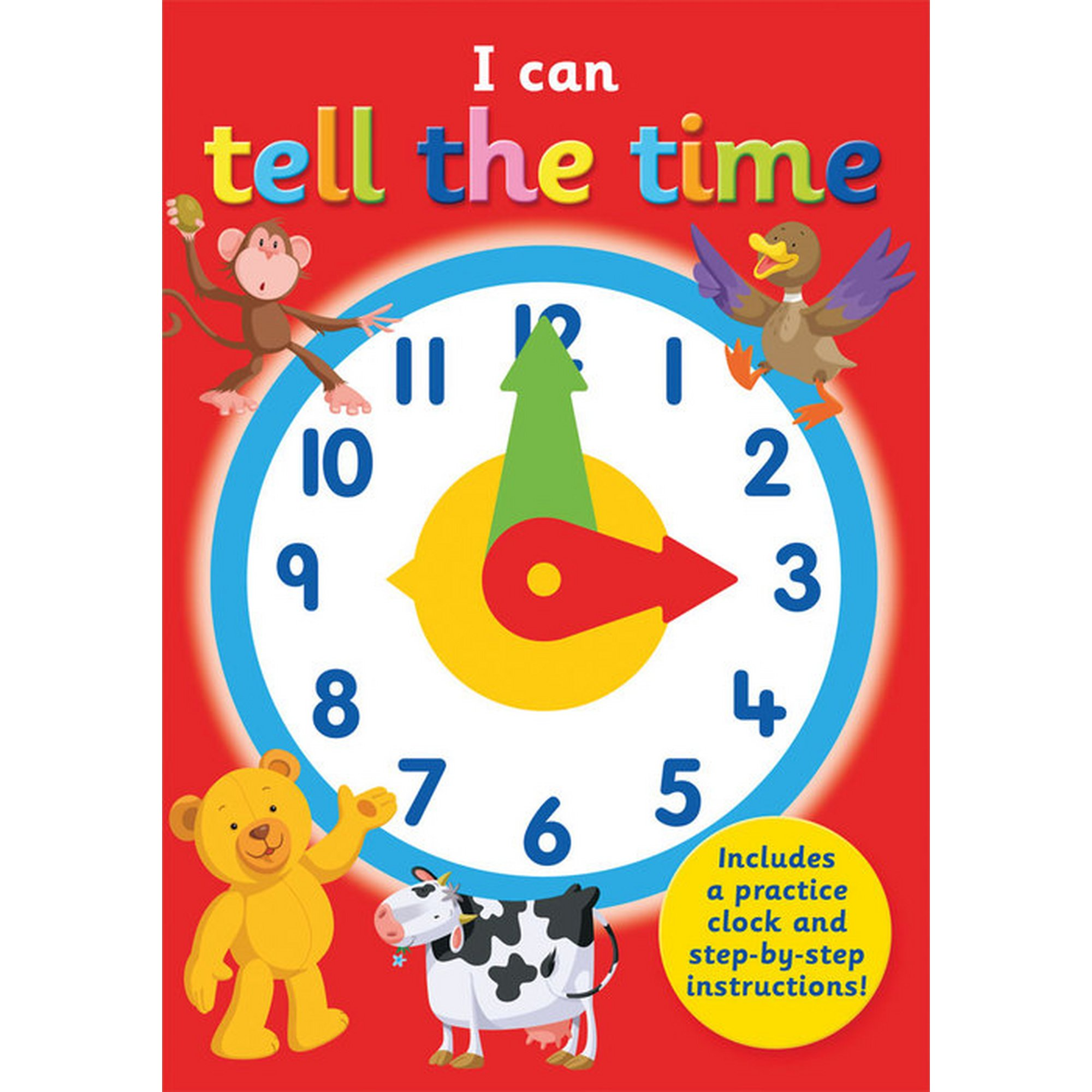 Image of I Can Tell the Time Activity Book