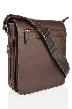 Burnish Portrait Messenger Bag