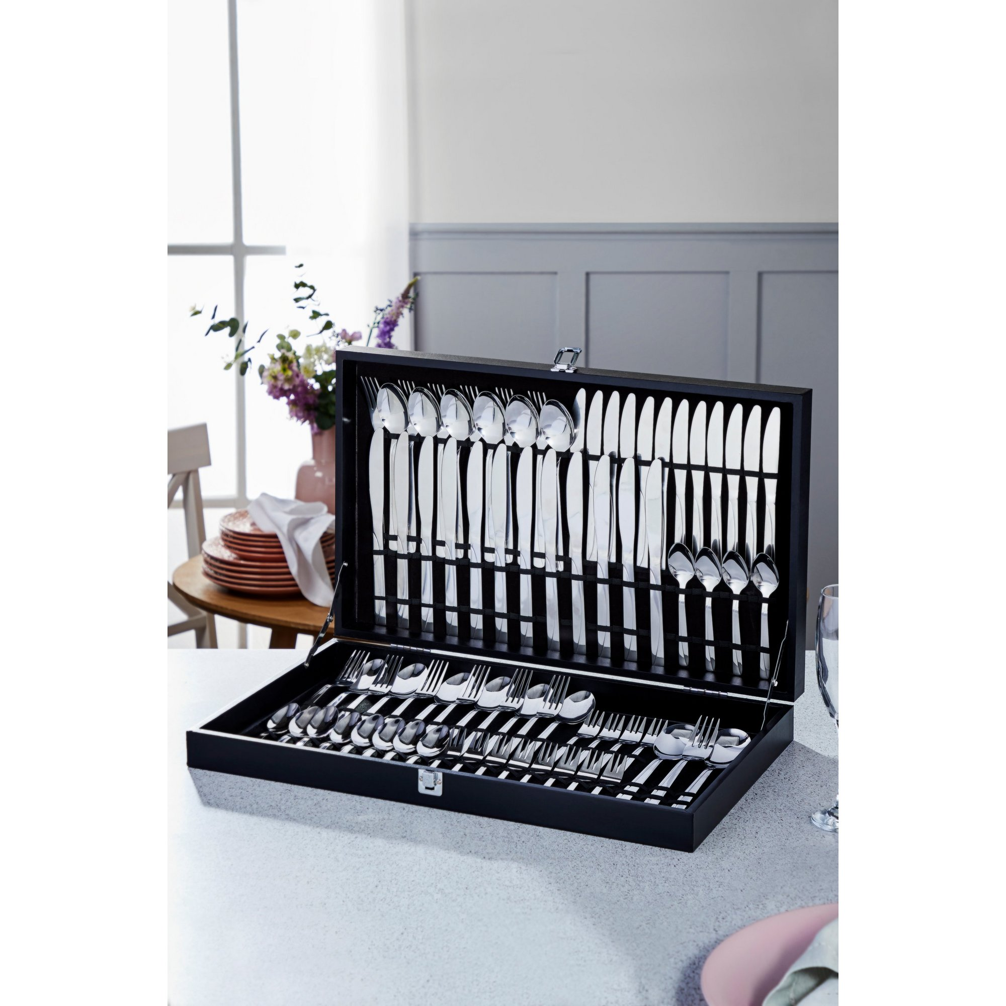 Image of 75-Piece Angel Boxed Cutlery Set