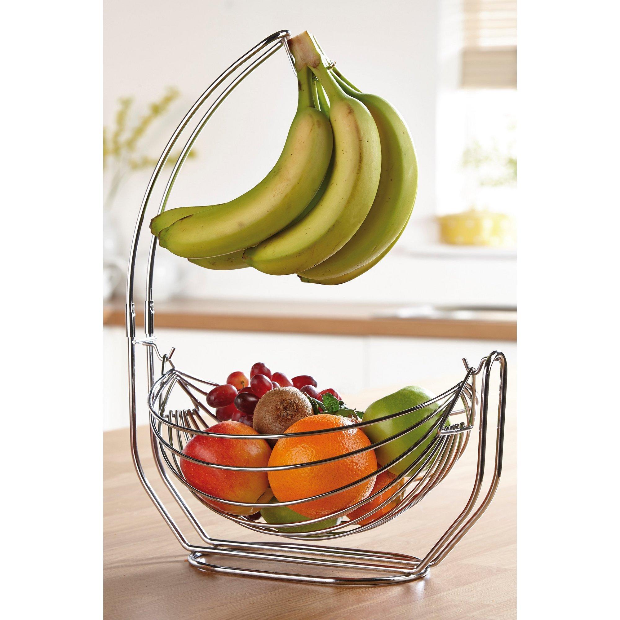 Image of Fruit Basket with Banana Hanger