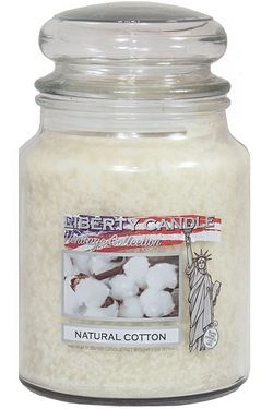 22oz Glass Jar Candle - Natural Cotton