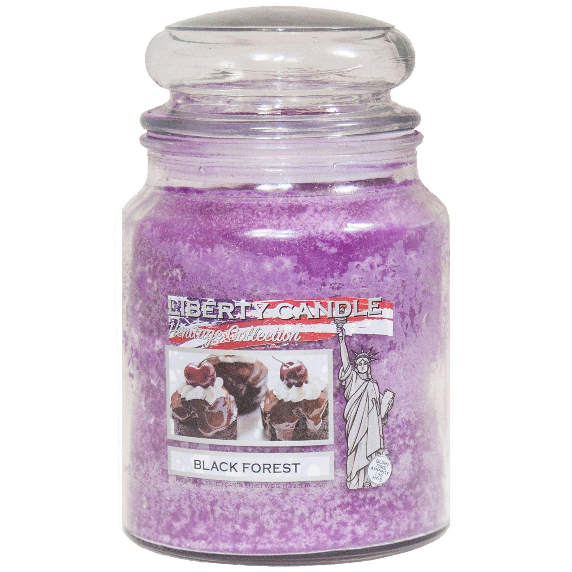 Image of 22oz Glass Jar Candle - Black Forest