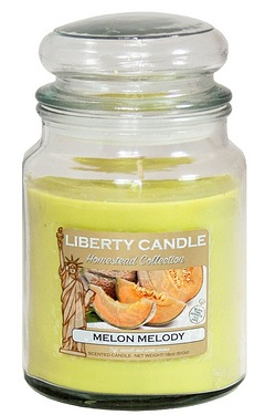 18oz Glass Jar Candle - Melon Medley