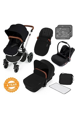 Stomp v3 All In One Travel System - Silver Frame