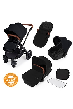 Stomp v2 All in One Travel System - Black Frame