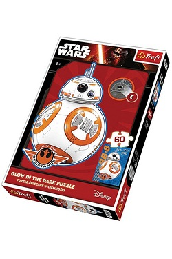 Star Wars: BB8 Is Coming 60 Piece Glow In The Dark Puzzle