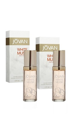 Jovan White Musk EDT Twin Pack